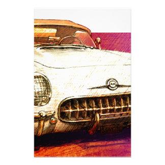 Pintura de 55 Corvettes Papeleria