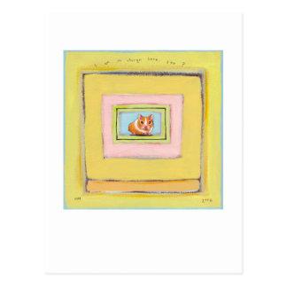 Pintura de acrílico caprichosa linda de la diversi postales