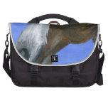 Pintura de acrílico del arte del caballo bolsas para portátil