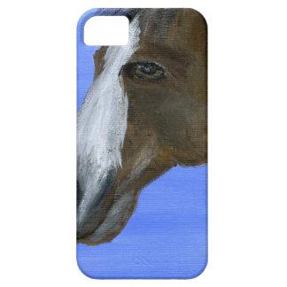 Pintura de acrílico del arte del caballo iPhone 5 fundas