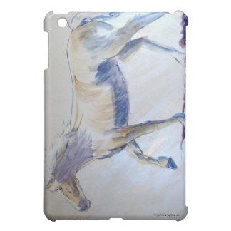 Pintura de acrílico que camina del caballo de plat