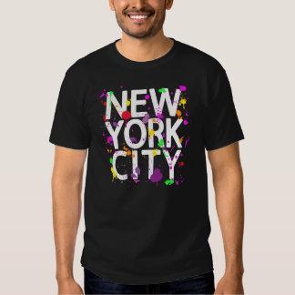 Pintura de aerosol de New York City Playera