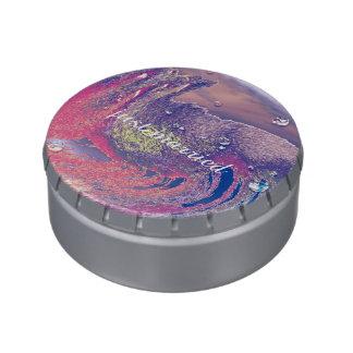 pintura de arena jarrones de caramelos
