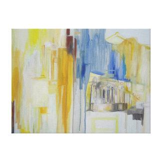 Pintura de Ashley Ellen Goetz Lona Envuelta Para Galerías