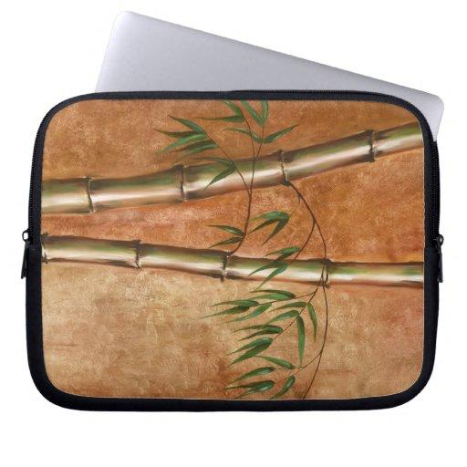 Pintura de bambú - manga de la electrónica mangas portátiles