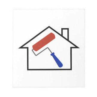 Pintura de casa bloc