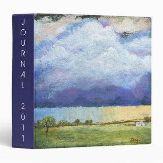 """Pintura de casa del paisaje del arte abstracto de carpeta 1 1/2"""""""
