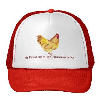 pintura de color de ante del gallo del orpington e gorras