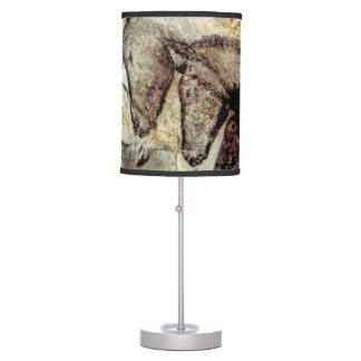 Pintura de cuevas de Lascaux Chauvet de la lámpara