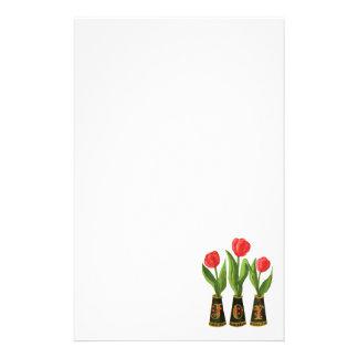 Pintura de Digitaces de los tulipanes de la alegrí Papeleria De Diseño