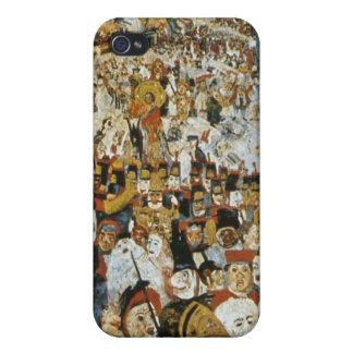 Pintura de Ensor iPhone 4 Carcasas