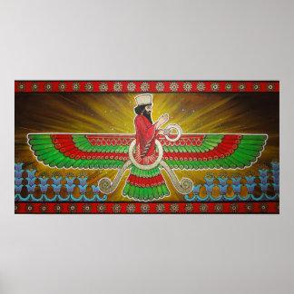 Pintura de Faravahar Impresiones