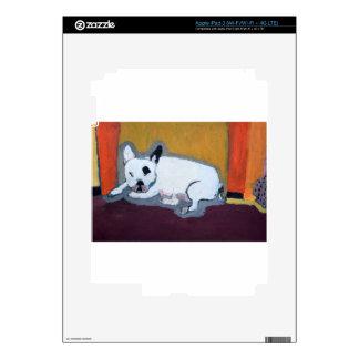 Pintura de Fauve del dogo francés iPad 3 Skin