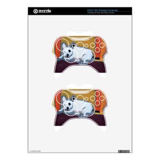 Pintura de Fauve del dogo francés Mando Xbox 360 Skin