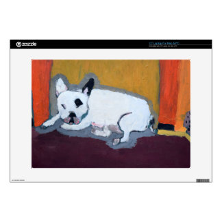 Pintura de Fauve del dogo francés Portátil Skins
