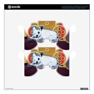Pintura de Fauve del dogo francés Skins Para Mando PS3