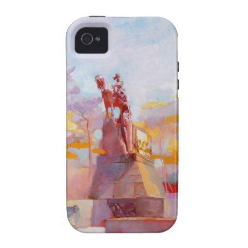 Pintura de género de los futuristas Case-Mate iPhone 4 fundas