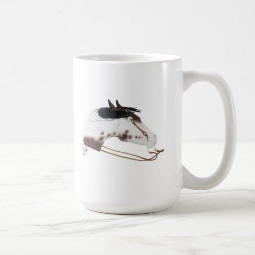Pintura de giro tazas de café
