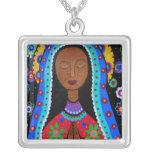 Pintura de Guadalupe de la Virgen por Prisarts Collares