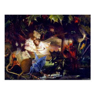Pintura de hadas mágica de la fantasía: La Postal
