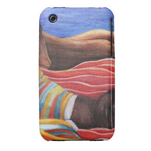 Pintura de Henri Rousseau iPhone 3 Case-Mate Carcasa