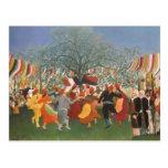 Pintura de Henri Rousseau Postal