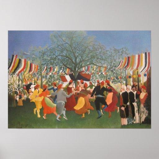 Pintura de Henri Rousseau Posters