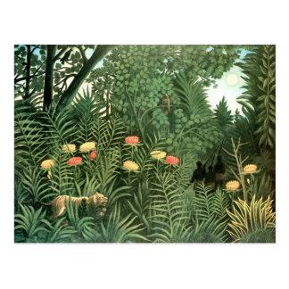 Pintura de Henri Rousseau Tarjeta Postal