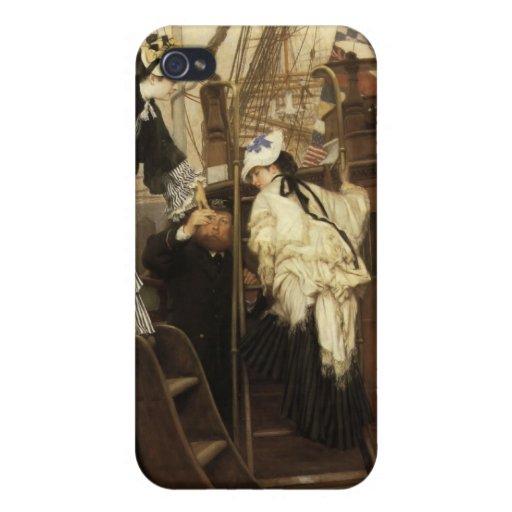 Pintura de James Tissot iPhone 4 Protector