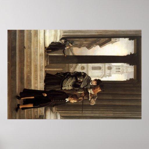 Pintura de James Tissot Póster