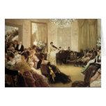 Pintura de James Tissot Tarjetón