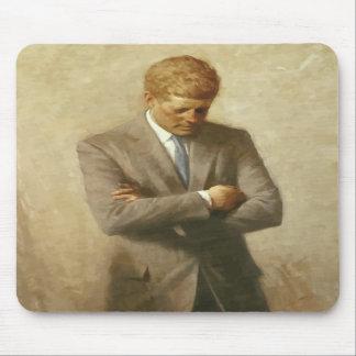 Pintura de John F. Kennedy Alfombrilla De Ratones