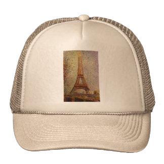 Pintura de Jorte Seurat: La torre Eiffel (1889) Gorras