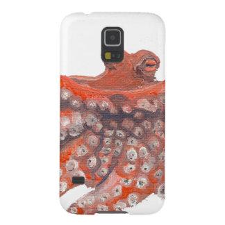 Pintura de Kraken del calamar del pulpo Carcasa Galaxy S5