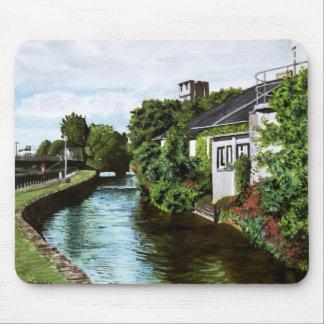 Pintura de la acuarela de Irlanda de la ciudad de  Tapete De Ratón