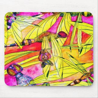 Pintura de la acuarela del ataque del insecto de l tapete de ratones