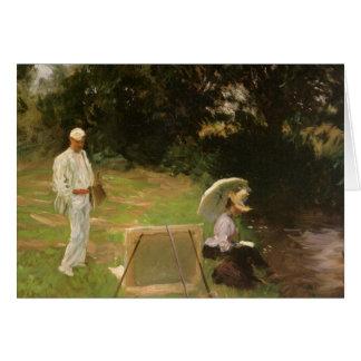 Pintura de la arcón de Dennis Miller en Calcot por Tarjeta De Felicitación