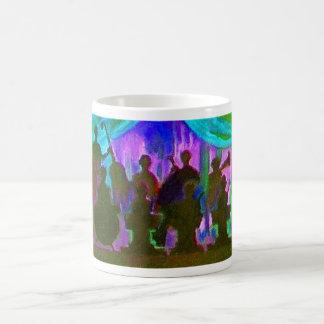 Pintura de la banda taza