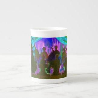 Pintura de la banda tazas de porcelana