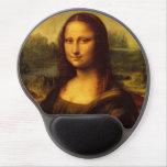 Pintura de la bella arte de Leonardo da Vinci Mona Alfombrilla Con Gel