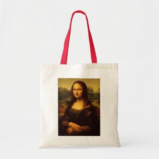 Pintura de la bella arte de Leonardo da Vinci Mona Bolsa Tela Barata
