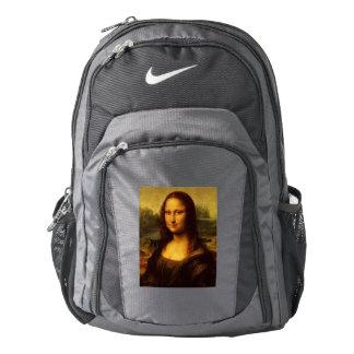 Pintura de la bella arte de Leonardo da Vinci Mona Mochila