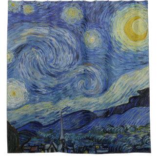 Pintura de la bella arte de Vincent van Gogh de la Cortina De Baño