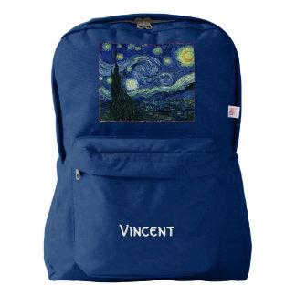 Pintura de la bella arte de Vincent van Gogh de la Mochila