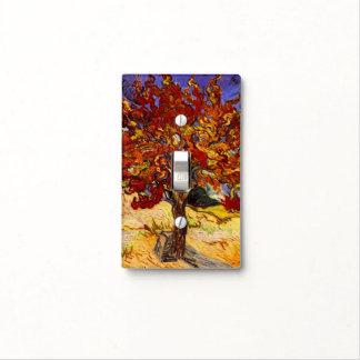 Pintura de la bella arte del árbol de mora de cubierta para interruptor
