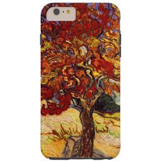 Pintura de la bella arte del árbol de mora de funda de iPhone 6 plus tough