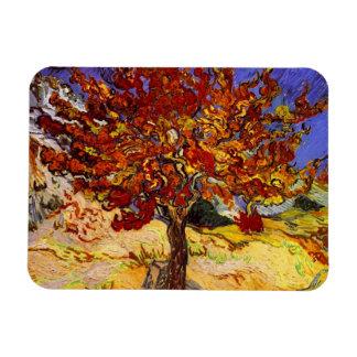 Pintura de la bella arte del árbol de mora de imanes