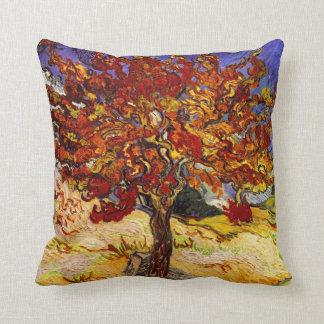 Pintura de la bella arte del árbol de mora de Vinc Almohada