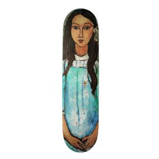 Pintura de la bella arte del vintage de Modigliani Patin Personalizado
