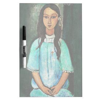 Pintura de la bella arte del vintage de Modigliani Pizarras